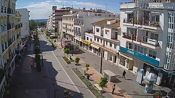 Cámaras en Marqués del duero, Boulevard y la playa de San Pedro Alcántara (San Pedro Alcántara)