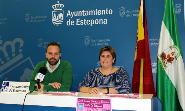 Presentación del XVIII Torneo de Gimnasia Rítmica 'Villa de Estepona'