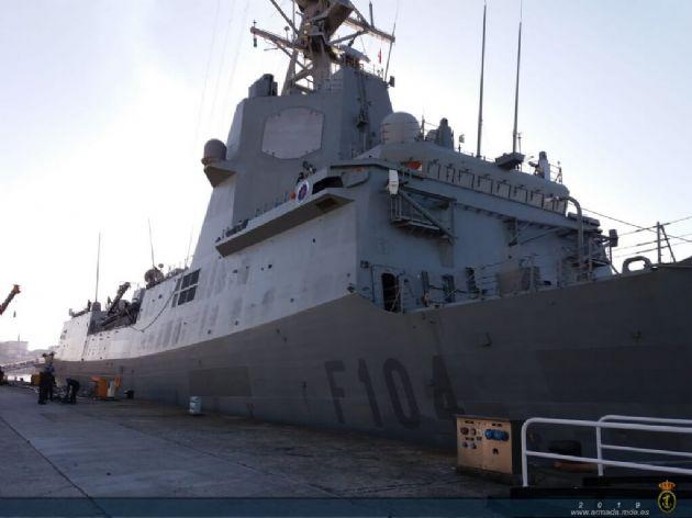 La Fragata Méndez Núñez comienza su despliegue con la Armada de los Estados Unidos