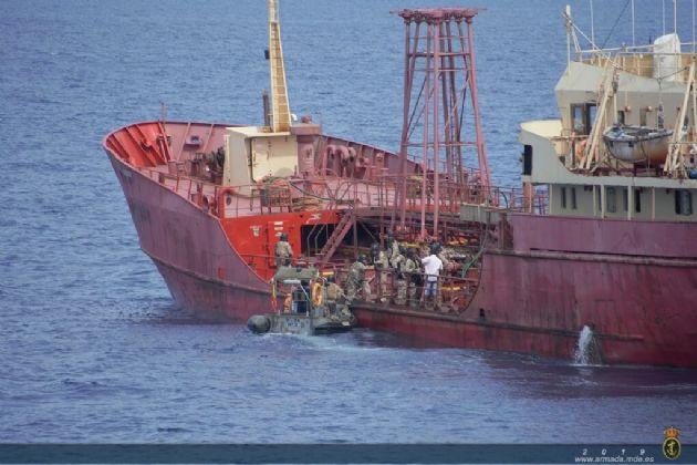 El Patrullero Serviola libera un buque de bandera nigeriana secuestrado en el Golfo de Guinea