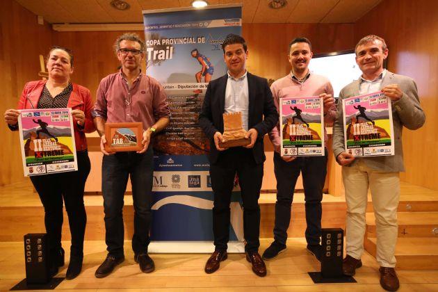 Presentación de la IV Copa Provincial de Trail 'Diputación de Málaga'
