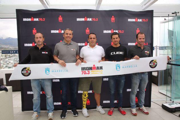 Presentación de la segunda edición del Ironman 70.3