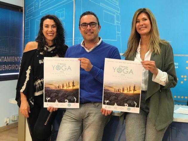 Presentación del III Festival de Yoga