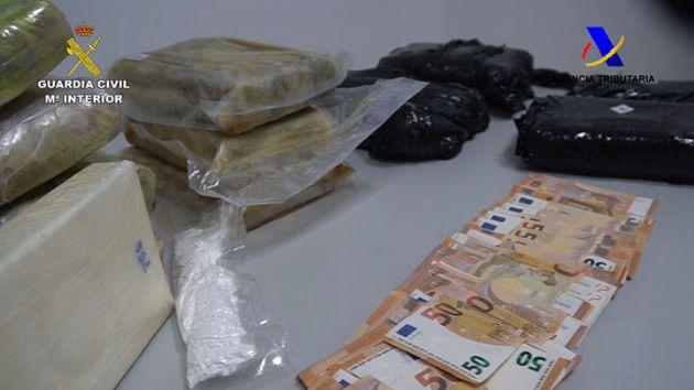 18 kilos de cocaína