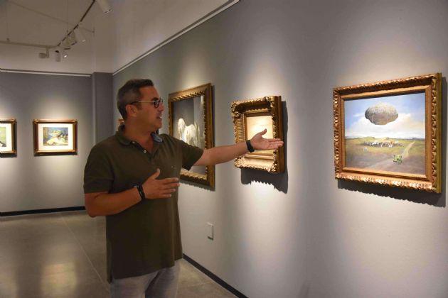 Exposición de pintura de José Manuel Gómez López