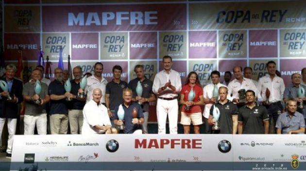 La Copa del Rey Mapfre de vela se ha celebrado en el Real Club Náutico de Palma