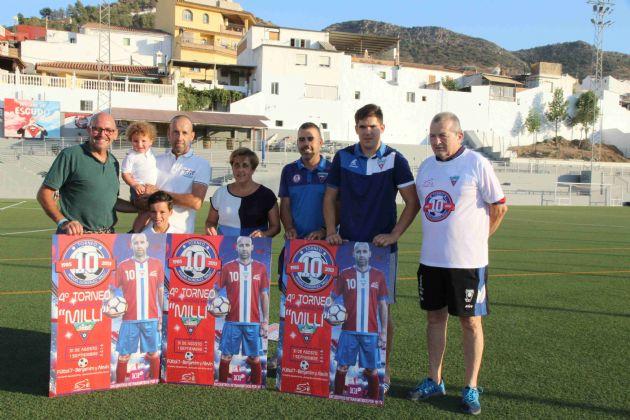 Presentación del Torneo de Fútbol 7 Miguel González Santos 'Milli'