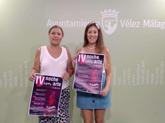 Lola Gámez y María Peral
