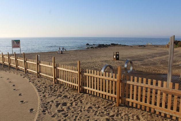 Playa canina de Fuengirola