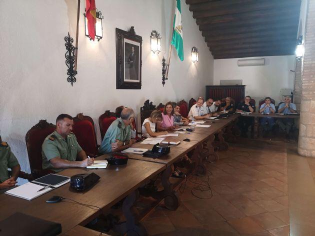 Reunión de la Junta Local de Seguridad de Ronda