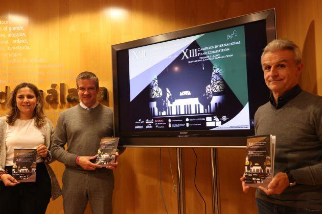 Presentación del XIII Concurso Internacional de Piano
