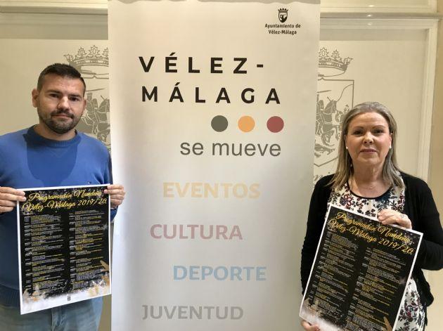 Presentación de la programación de Navidad de Vélez-Málaga