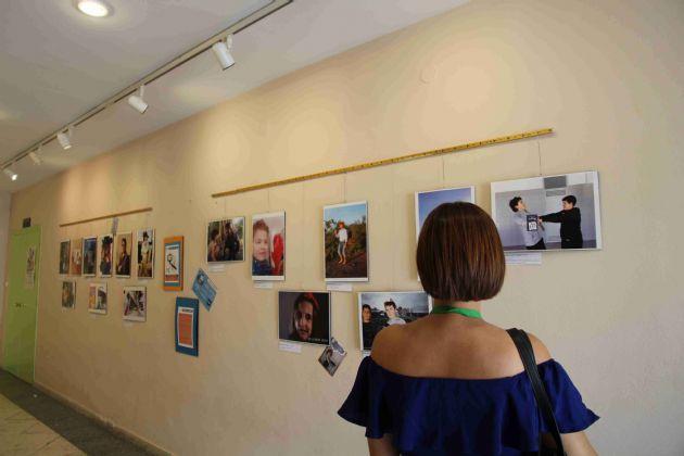 Exposición Selfies de libro