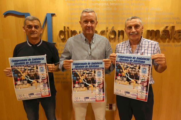 Presentación del XLII Campeonato de Andalucía Absoluto de Atletismo al Aire Libre
