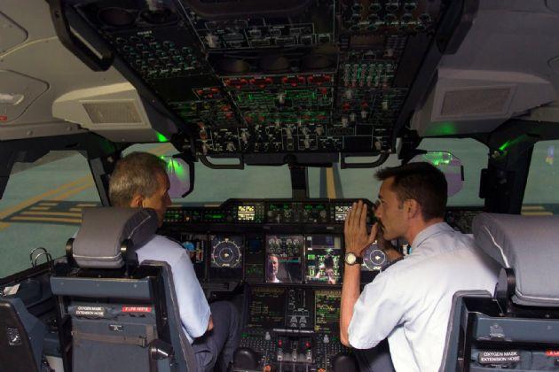 Simulador del Airbus A400M