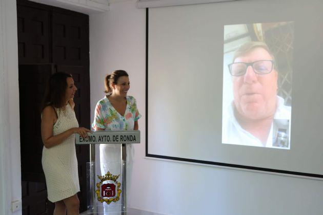 Presentación del pregonero de la Feria Pedro Romero 2019