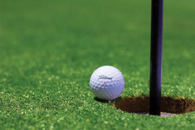 El complejo comprende un campo de golf de 18 hoyos