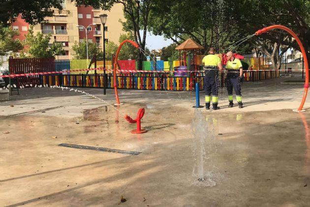 Parque del Agua de la barriada de Plaza de Toros