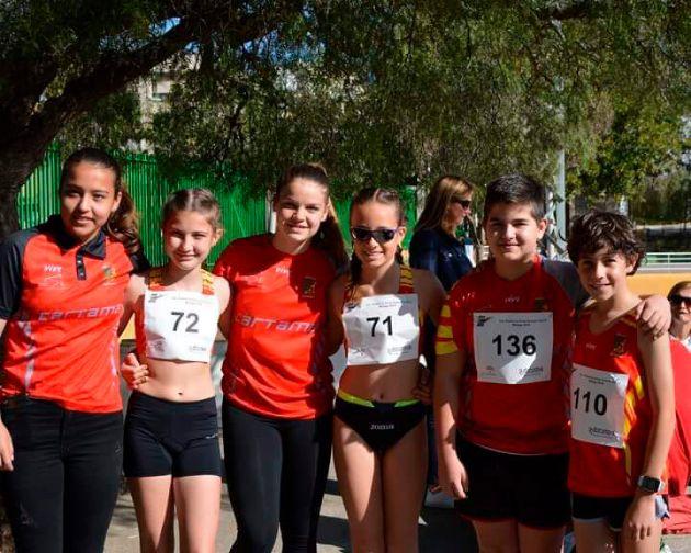 Atletas de Cártama en el Campeonato Nacional y Andalucía Oriental