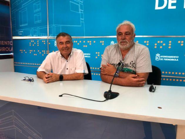 Pedro Cuevas y Agustín Montañez