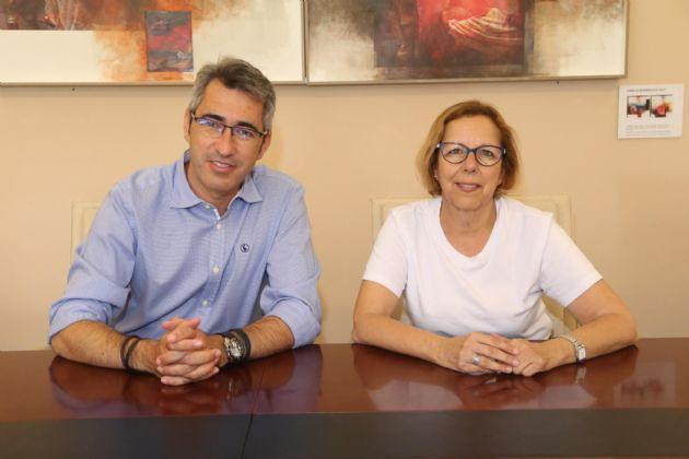 Víctor Navas y Elena Galán