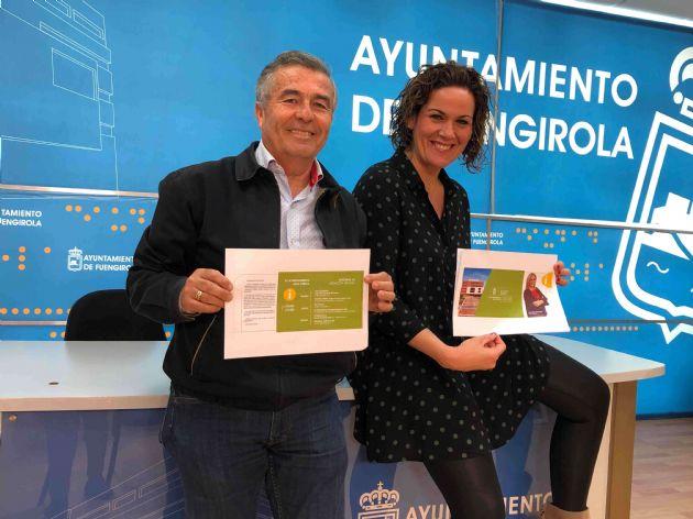 Isabel Moreno y Pedro Cuevas
