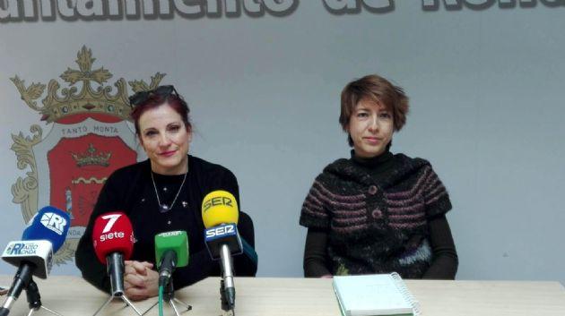 Laura Marín y Mª Paz Aguilar