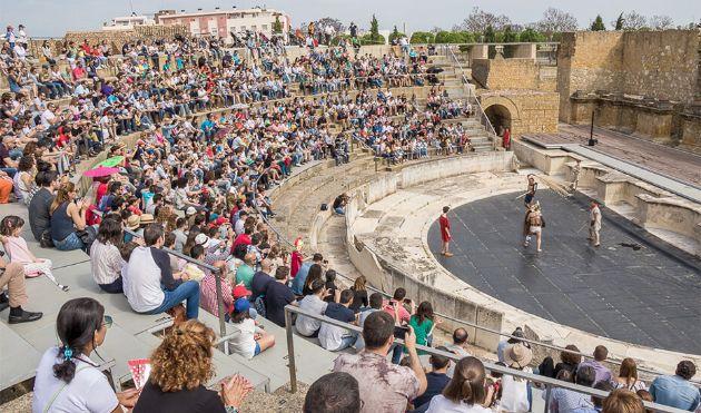 Durante el próximo día 18, el conjunto arqueológico de Itálica ofrece visitas guiadas y jornadas de puertas abiertas
