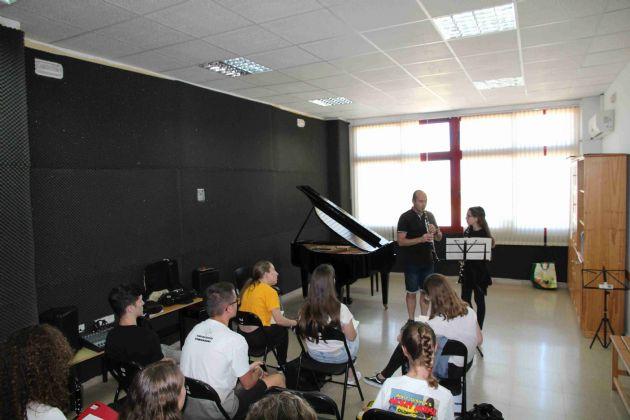 Curso de clarinete y técnica Alexander