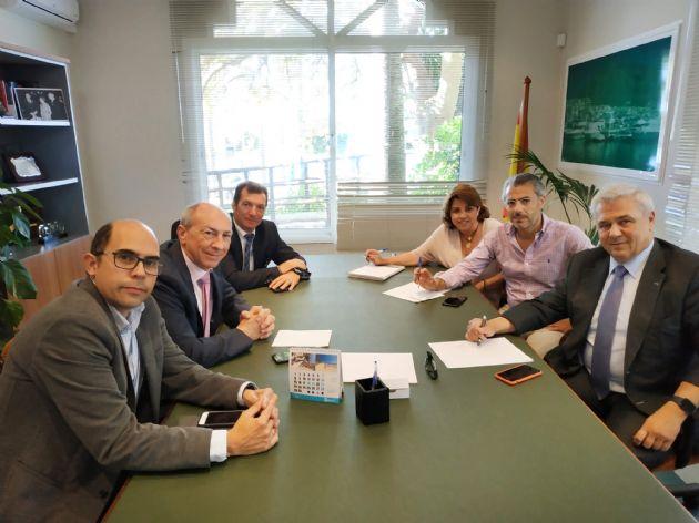 Reunión con miembros de la Junta Directiva de la Asociación de Empresarios Hoteleros de la Costa del Sol