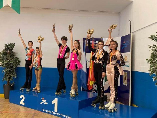Campeonato de España de patinaje en la modalidad de Parejas de Danza