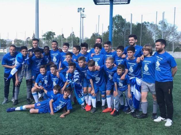 Infantil B del RCD Espanyol