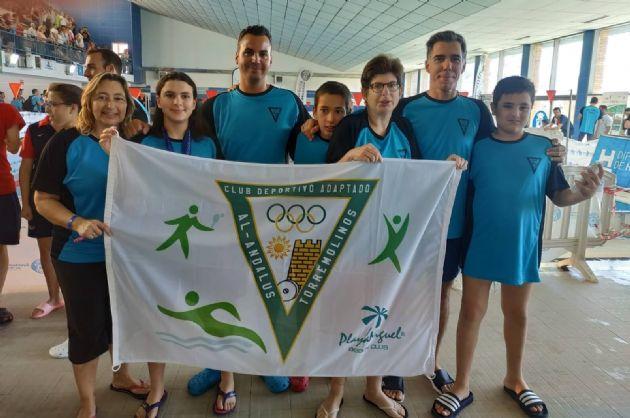 Campeonato de Andalucía Fanddi de natación para personas con discapacidad intelectual