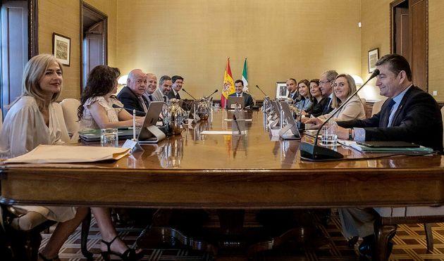 El Consejo de Gobierno reunido de forma extraordinaria para aprobar el Proyecto de Ley de Presupuestos de 2019