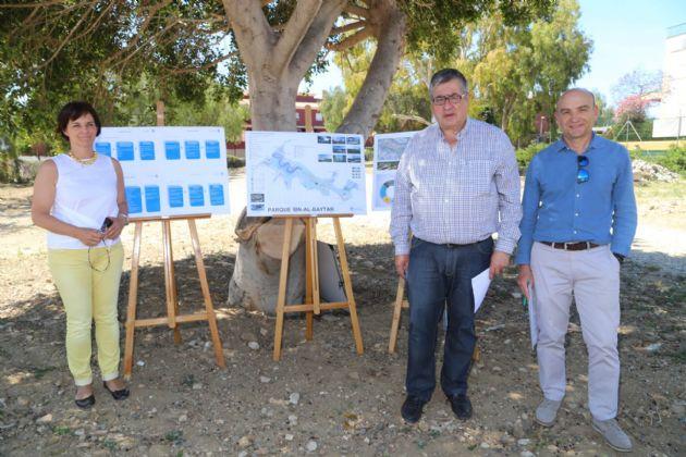 Presentación del proyecto paisajístico