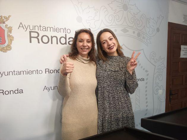 María Villalón y Concha Muñoz