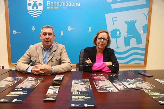 Miguel Ángel González y Elena Galán