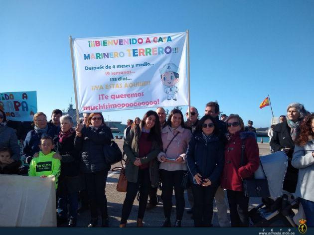 """Regreso de la Fragata """"Canarias"""""""