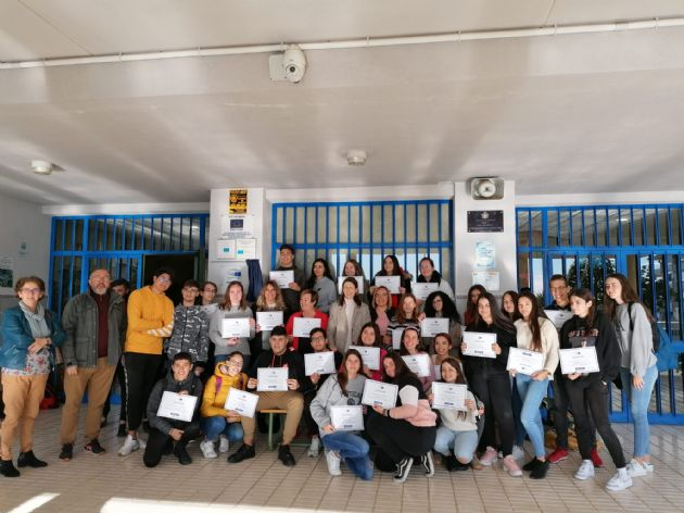 Alumnos del IES Las Lagunas