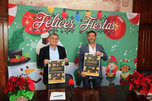 Presentación de la Navidad en San Pedro Alcántara