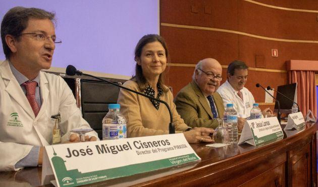 El consejero Jesús Aguirre, en el VII Encuentro Pirasoa con motivo del Día Europeo para el Uso Prudente de los Antibióticos