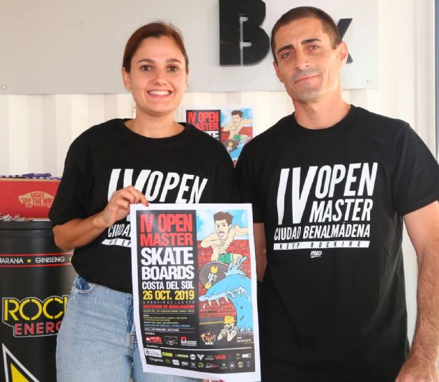Presentación del IV Open Masters Skateboard Costa del Sol
