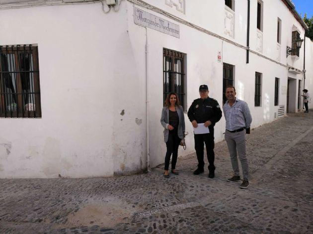 Obras en calle Moctezuma
