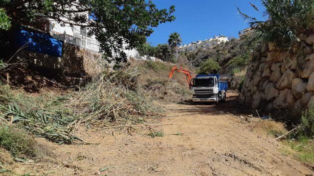 Limpieza del Arroyo Estanco