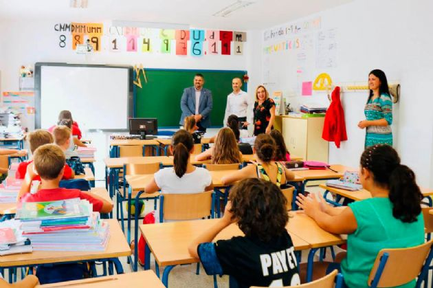 Inicio del curso escolar en Mijas