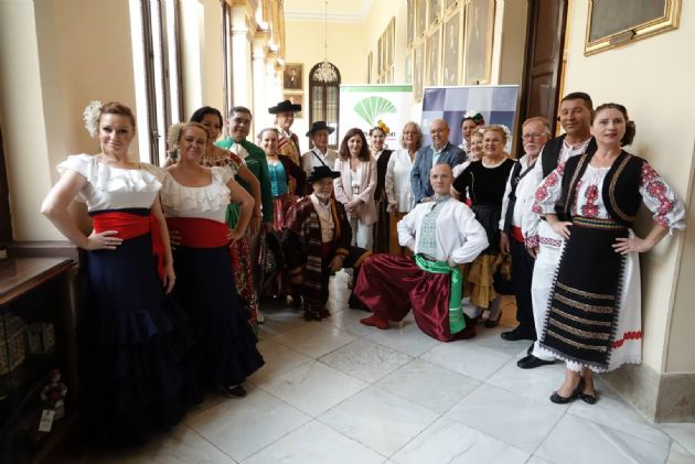 Presentación del Festival Internacional de Folclore
