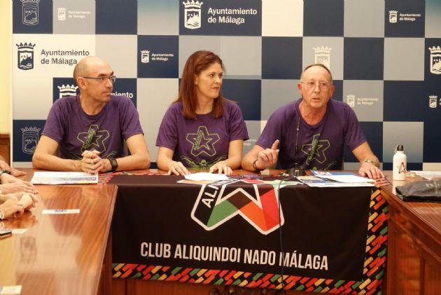 Presentación de la III Travesía a Nado Aliquindoi