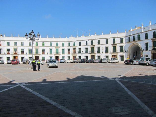 Plaza de San José en Aguilar de la Frontera (Córdoba)