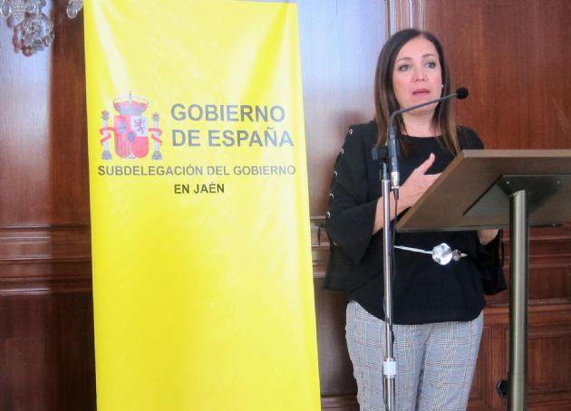 La subdelegada del Gobierno en Jaén, Catalina Madueño