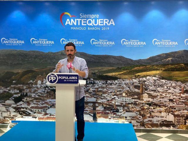 El coordinador general del Partido Popular de Málaga, José Ramón Carmona